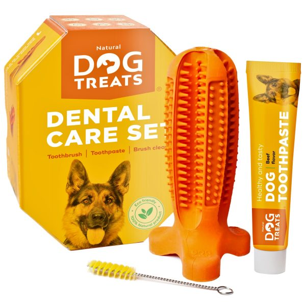 Toothbrush-dog